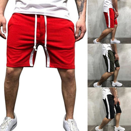 $enCountryForm.capitalKeyWord NZ - Plus Size 3XL Men 2019 Summer Running Shorts New Board Shorts Solid Breathable Drawstring Male Jogging homme Brand Gym Clothing