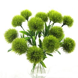 live garden plants Canada - 26cm Artificial Plants Simulation Flowers Dandelion Plastic Fake Flowers Yellow For Gardening Home Living Room Table Decoration