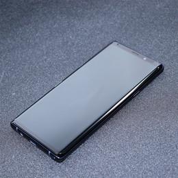 Uv Coating Liquid Australia - Samsung S9 toughening film note9 full adhesive toughening film mobile phone nano liquid coating S8 uv toughening film