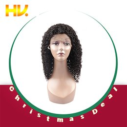 Jerry Curly Lace Front Wigs Australia - Brazilian Jerry Curly Lace Front Human Hair Wigs With Baby Hair Dentelle Wig Real Knots Wigs Women Remy Silky hair