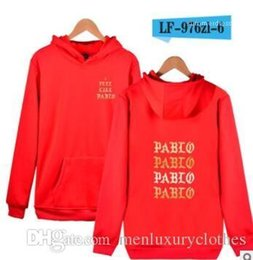 i clothing Australia - Pablo Street Designer Hoodies Mens Women Clothing Hooded Casual Autumn Fall Sweatshirts I Feel Like