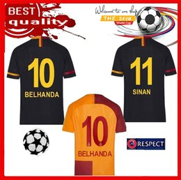 FREE Ship 2018 2019 new Galatasaray soccer jersey home Champions League 18  19 away 3rd CIGERCI BELHANDA FERNANDO FEGHOULI FOOTBALL kit SHIRT 93b18a931