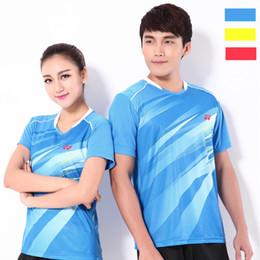 Sportswear T Shirt Badminton Australia - F6 YON EXX Badminton Suit Sportswear for Men and Women Short Sleeve T-shirt for Leisure Running Basketball casual wear Y3027