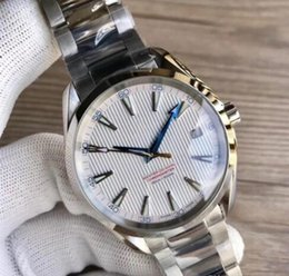 Discount new shanghai watches - Luxury Watches Stainless Steel Bracelet Aqua Terra 150m Master 41.5mm Stainless Steel 23110422101004 41.5mm MAN WATCH Wr