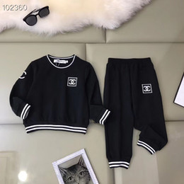 Kids embroidery suits online shopping - Autumn baby Girls Sets Children Kids Sports Suit Tracksuit Clothing long sleeves hoodie Pant Set tops