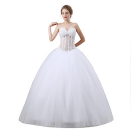 Balls Bra Australia - New Bra Sexy Perspective Wedding Dress Pearl Sequin Qi T-shirt Dress Party Dress Quinceanera Dresses
