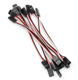 Led Extension Wire Australia - 10pcs 300mm Male To Male Quadcopter Extension Servo Lead Futaba JR Wire Cable RC