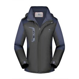 fur manufacturers NZ - MEN'S Assault Jacket Brushed And Thick Outdoor Windproof Waterproof Warm Raincoat Jacket-Graphic Customization Logo Manufacturer