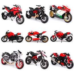 Wholesale Maisto Scale Alloy Motorcycle Model Toy Simulation Motorbike Sport Motor Racing Car Models Children s Toys For Boys J190525