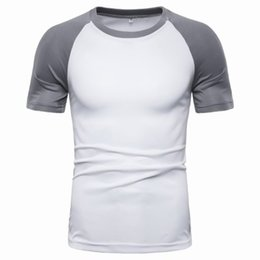 quick dry shirts for men UK - Quick-drying clothes for men and women outdoor short-sleeved t-shirt breathable summer sports running large size ice silk quick-drying half-