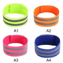 Sports Arm Strap Australia - Reflective Arm Band Belt Strap For Outdoor Sports Night Running Cycling Band #680310