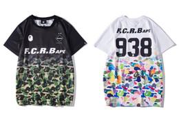 $enCountryForm.capitalKeyWord Australia - Fashion T-shirt APE joint name gradient camouflage sports breathable T-shirt classic hip hop loose sweatshirt brand clothing shirt