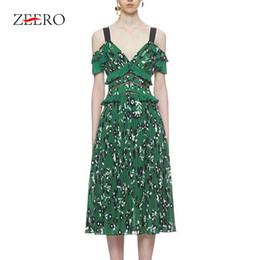 17d0efdf05f3d Discount self portrait dresses - Self Portrait Dress 2019 Summer V Neck  Chiffon Ruffle Hollow Out