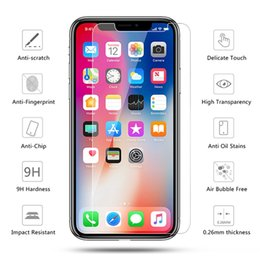 $enCountryForm.capitalKeyWord Australia - Crystal Clear Tempered Glass Screen Protector for iPhone X 6 6s 7 7Plus 8 8 Plus 6 Toughened Protective Film