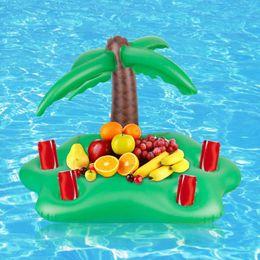 $enCountryForm.capitalKeyWord Australia - Summer Party Bucket Sun Umbrella Cup Holder Inflatable Pool Float Beer Drink Cooler Table Bar Tray Beach Swim Pool Accessories