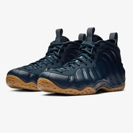15f410374dd 2019 Foam One Pro Floral CNY Midnight Navy Gum Penny Hardaway Men  Basketball Shoes Good quality Black Blue Mens Foams Sport Sneakers 7-13