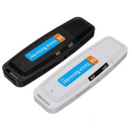 $enCountryForm.capitalKeyWord Australia - New High Quality U-Disk Digital Audio Voice Recorder Pen USB Flash Drive Up To 32GB Micro SD Car Decoration Using Supplies