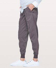 "Wholesale LU-10 New Women Yoga Dance Studio Jogger 29"" Women's Sports Loose Trousers Casual Woven Pocket Running Gym Pants Tights Lady Sportswear"