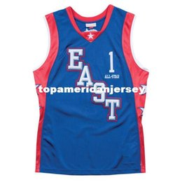 00714eea2ce  1 Tracy McGrady 2004 All Star east Basketball Jersey All Size Embroidery Stitched  Customize any name and name XS-6XL vest Jerseys Ncaa