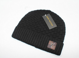 201bc083e4693 Moda para mujer Gorro de punto Otoño Invierno Hombres Algodón Cálido  Sombrero Marca Pelo pesado Bola Gorro Gorros Color sólido Hip-Hop Sombreros  de lana