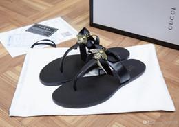 $enCountryForm.capitalKeyWord Australia - Women Designer Sandals 100% real Leather Slippers flip flops Metal chains Summer slipper style shoes for women 35-42