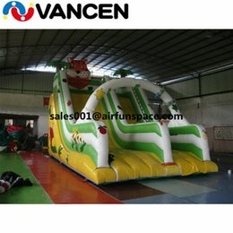 Toy Arch NZ - Hot selling 3.5*6m inflatable tiger slide with arch forest inflatable bouncer with slide for kids and adult