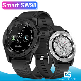 smartwatch y1 UK - Smart watch SW98 smartwatch Men Support SIM Card Pedometer Camera Bluetooth Smartwatch for Android Phone PK DZ09 Y1 A1 Wristwatch
