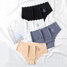 $enCountryForm.capitalKeyWord Australia - 2019 Hot Sale Fashion Women Seamless Ultra-thin G String Underwear Silk Women's Panties Intimates briefs dropship