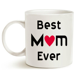 porcelain gift ideas Australia - Christmas Gifts Best Mom Coffee Mug Best Mom Ever Unique Christmas or Birthday Gifts Idea for Mom Mother Mama Mommy Porcelain Cup