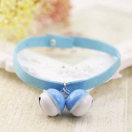 $enCountryForm.capitalKeyWord Australia - 2019 Pure hand-made leisure style candy color durable cat bell collar dog collar pet supplies support hair substitut