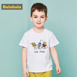 $enCountryForm.capitalKeyWord Australia - Balabala Summer T-shirt For Toddler Boy Food Print Shirt For Boys Enfant Children Clothing Kids Clothes Cartoon Short Sleeve Top Y190518