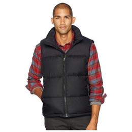 Wholesale men s coat patterns online – oversize Famous Mens Down Vests Men Women Stylist Winter Jacket Coat Mens High Quality Casual Parka Mens Down Colors Size S XL