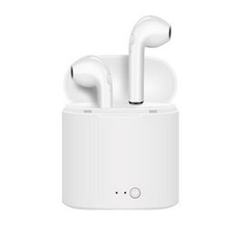 wireless headphones mic for phone 2019 - I7 Mini Tws Bluetooth Earphone Wireless Headphones Sport In Ear Earbuds Stereo Headset With Chargingth Charging Box Mic