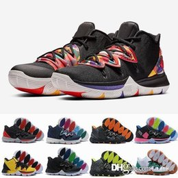 6db0395a6512 2019 Mens 5s Taco Black Magic Kyrie Basketball Shoes Multi-Color CNY Bruce  Lee Irving 5 Men Sneakers Chaussures Zapatillas 40-46