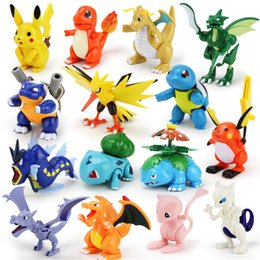 $enCountryForm.capitalKeyWord Australia - 15 style Popular toys Pokemons movable dolls Pikachu small fire dragon PVC Action Figures children's toys Assembling toy collection