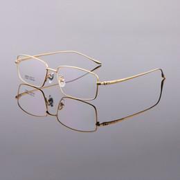 Chinese  Business Eyeglass Frames for Men Half Rim Titanium Glasses Frame New Style Spectacle Frames Optical Frame Gold Black Silver Gray LB-6628 manufacturers
