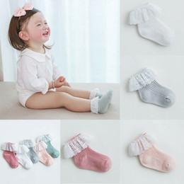 $enCountryForm.capitalKeyWord Australia - Hot Sale Stuff Newborn Socks Cotton Baby Socks Lace Baby Girl Ruffle Summer Beautiful Children's Accessories
