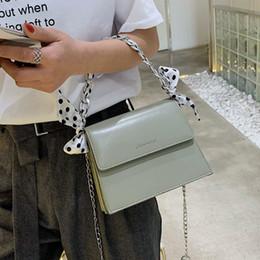 $enCountryForm.capitalKeyWord Australia - Superior2019 Woman Bag Small Package All-match Oblique Tide Satchel Chain Silk Scarf Single