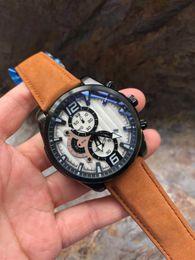 $enCountryForm.capitalKeyWord Australia - Top watch mens watches Wrist watches Men Designer Fashion Men's sports Watch Chronograph Male clock Automatic date Men Free Shipping