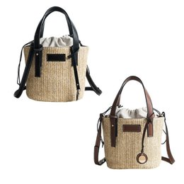 b74283042aef Michael Kors Bag UK - 2019 New Women Vintage Straw Storage Handbags Beach  Summer Crossbody Bag