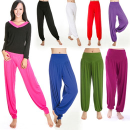 Harem Jumpsuits Women Australia - Women Harem Genie Aladdin Causal Gypsy Dance Yoga Pants Trousers Baggy Jumpsuit #1011379