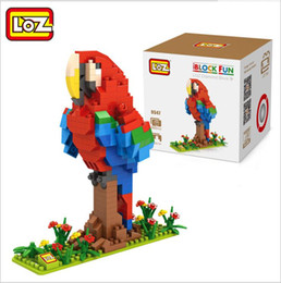 LOZ building Block Hens and chicks Animal Micro Blocks Figure Brick Kid Gift Toy