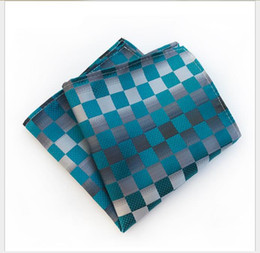 Free Suit Patterns NZ - 2019 Suit pocket scarf Men's small square scarf Business evening wear pattern chest scarf handkerchief