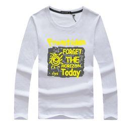 Swag Long T Shirts Australia - 2019 Brand Cotton Men Clothing Male Slim Fit T Shirt Man T-shirts Casual T-shirts Long Sleeves Swag Mens Tops Tees