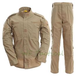 Camouflage Combat suit online shopping - US ACU Army Camouflage Uniform Men Hunting suit Combat Jacket Pants