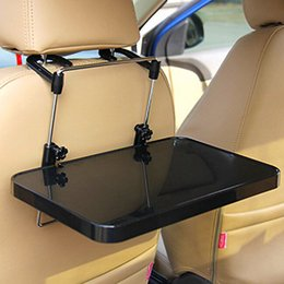 Car drink holders online shopping - Car Foldable Table Steering Wheel Seat Stand Holder For Laptop Notebook Drink Cup F Best