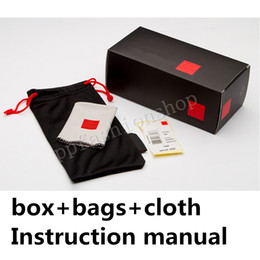 $enCountryForm.capitalKeyWord Australia - QS Brand glasses packages ( bags , cloth , Instruction manual ) MOQ=10pcs original glasses box wholesale Eyewear Accessories Free Ship