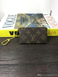 HigH end art online shopping - Mens new L bag billfold High quality Plaid pattern women wallet men pures high end luxury s designer L wallet no box