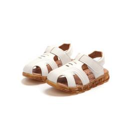 $enCountryForm.capitalKeyWord UK - Boy Soft Sole Sandals Anti-slip Led Light Luminous Kids Sport Sandals Sneaker Shoes 1-3.5T 2019 New Children Shoes