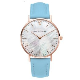 31806683180d 2019 TOP Version stainless steel fashion paul valentine rose gold men 40mm  brand quartz couple watch gift watch Femme masculino relojes